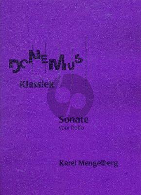 Mengelberg Sonate Hobo solo (1939)