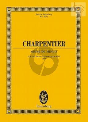 Messe de Minuit H.9 (Soli-Choir-Orch.) (Study Score)