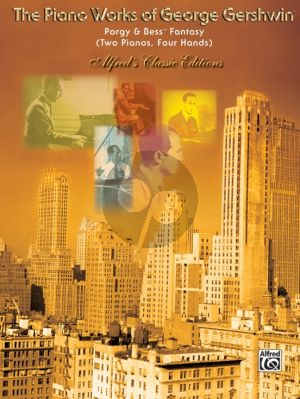 Gershwin Porgy & Bess - Fantasy for 2 Pianos (arr. P.A.Aldridge Grainger)