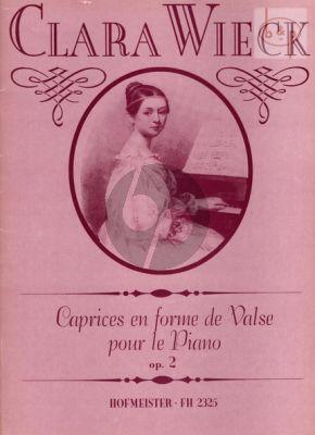 Caprices en forme de Valse Op.2