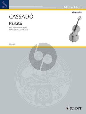 Partita Violoncello-Klavier