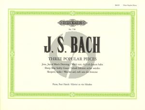 Bach 3 Popular Pieces Piano 4 Hands (Duck)