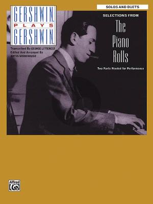 Gershwin plays Gershwin Piano Rolls selection (arr. Artis Wodhouse)