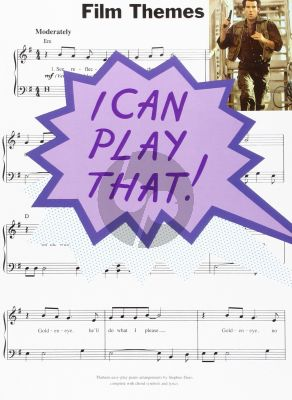 I Can Play That Film Themes Piano (with Lyrics and Chords)