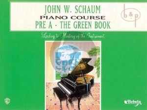 Piano Course Pre A Book The Green Book