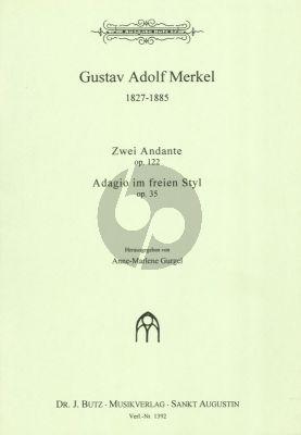 Merkel Andante Op. 122 und Adagio im freien Styl Op. 35 Orgel (Anne Marlene Gurgel)