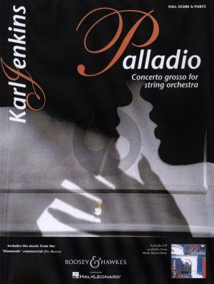 Jenkins Palladio Concerto Grosso for Stringorchestra Score and Parts