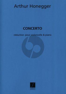 Honegger Concerto Violoncello et Piano