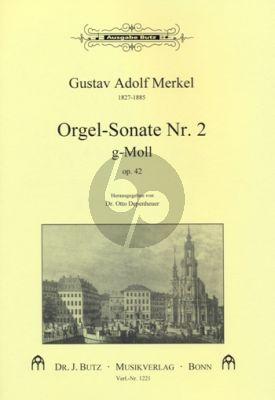 Merkel Sonate No. 2 g-moll Orgel (Otto Depenheuer)