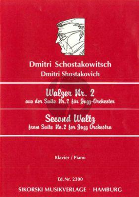Walzer No.2 Klavier