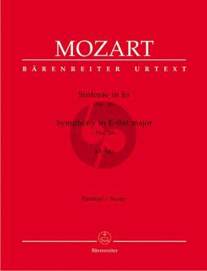 Mozart Symphonie No.39 Es-dur KV 543 Partitur (H.C. Robbins Landon)