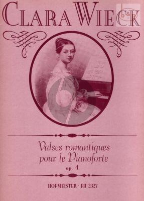 Valses Romantiques Op.4