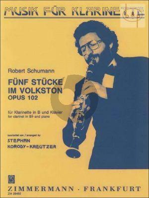 5 Stucke im Volkston Op.102