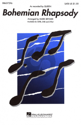 Mercury Bohemian Rhapsody (SATB) (Brymer)