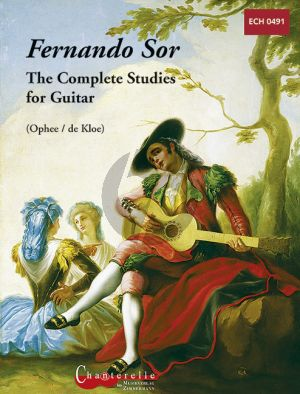 Sor Complete Studies for Guitar (De Kloe) (Urtext)