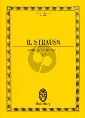 Strauss Eine Alpensymphonie Op. 64 Studienpartitur