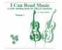 Martin I Can Read Music Vol.1 (A Note Reading Book for Cello Students)