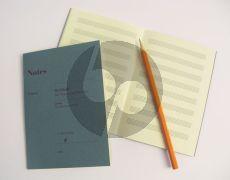 Notes Merkheft fur Noten und Notizen (Jotter for Music and Notes) (32 pages) (Din A6) (Henle)