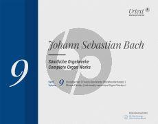 Bach Samtliche Orgelwerke Vol.9 Choralpartiten / Einzeln überlieferte Choralbearbeitungen I