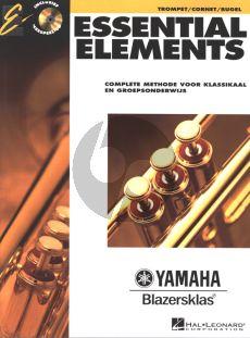 Essential Elements vol.1 Trompet (Bb) (Bk-Cd) (complete methode voor klassikaal en groepsonderwijs) (ned.)