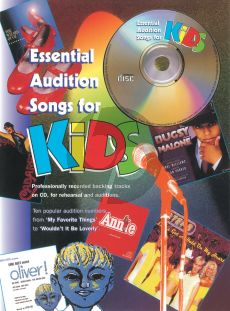 Essential Audition Songs for Kids (Bk-Cd)