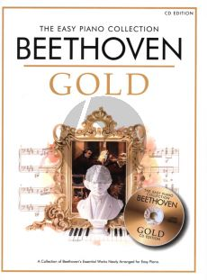 Beethoven Beethoven Gold Easy Piano Collection Book with Cd