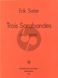 Satie 3 Sarabandes Piano