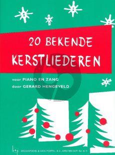 Hengeveld 20 Bekende Kerstliederen (20 Well-Known Christmas Songs) (Dutch Texts)