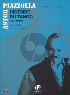 Piazzolla Histoire du Tango Piano