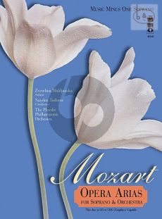 Mozart Opera Arias for Soprano and Orchestra Vol.1 (Bk-Cd) (MMO)