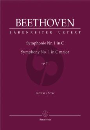 Beethoven Symphony No.1 C-major Op.21 Full Score (edited by Jonathan Del Mar)