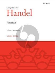 Handel Messiah (SATB soli-SATB-Orch.) (Vocal Score) (English Texts) (edited by Clifford Bartlett)