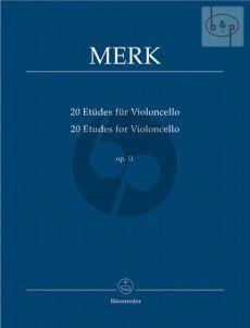 20 Etudes Op.11 Violoncello
