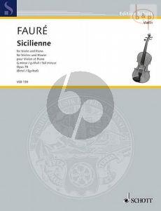 Sicilienne g-minor Op.78