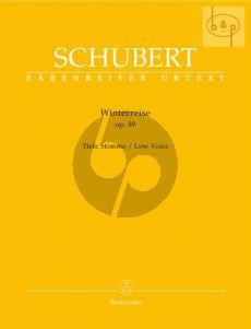 Schubert Winterreise Op.89 D.911 Low Voice (edited by Walther Durr)