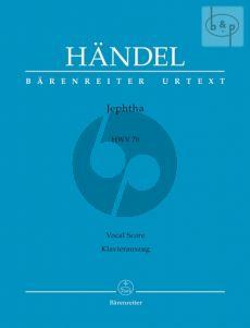 Jephtha HWV 70 (SATTB soli-SATB choir-Orch.) (Vocal Score) (engl.)