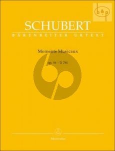 Moments Musicaux Op.94 (D.780) (edited by Walther Durr)