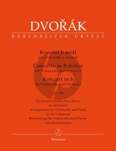 Dvorak Concerto B-minor Op.104 Violoncello and Orchestra (piano reduction) (edited by Jonathan Del Mar)