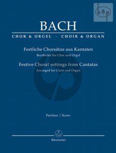 Festliche Chorsatze aus Kantaten (Festive Choral Settings from Cantatas)