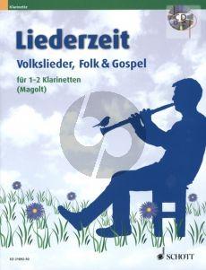 Liederzeit (Volkslieder-Folk & Gospel) (1 - 2 Clar.)