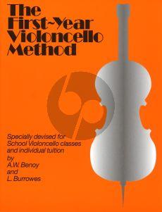 Benoy-Burrows First Year Cello Method