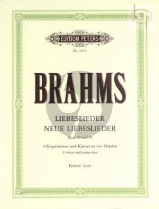 Liebeslieder und Neue Liebeslieder Walzer Op.52 and Op.65
