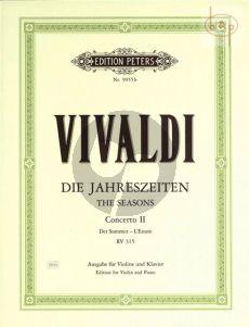Concerto Op.8 No.2 RV 315 g-minor (L'Estate) (Violin-Str.-Bc.)