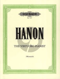 Hanon The Virtuoso Pianist (Weinreich) (Peters)
