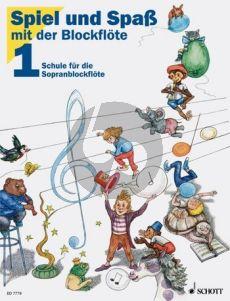 Heyens-Engel Spiel und Spass mit der Blockflöte (Sopranblfl.) Vol.1