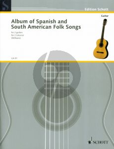 Spanish and South American Folksongs 2 Gitarren (Len Williams)