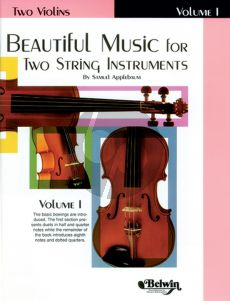 Beautiful Music for two String Instruments Vol. 1 2 Violins