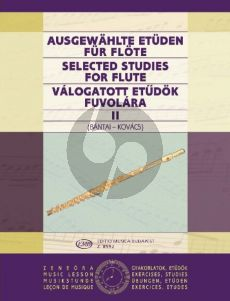 Selected Studies Vol.2 for Flute (edited by Vilmos Bántai and Gábor Kovács)