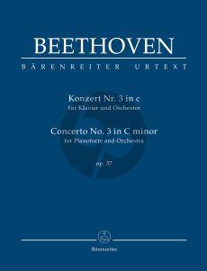 Beethoven Concerto No.3 c-minor Op.37 Pianoforte and Orchestra Study Score