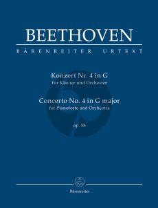 Beethoven Concerto No.4 G-major Op.58 Pianoforte and Orchestra Study Score